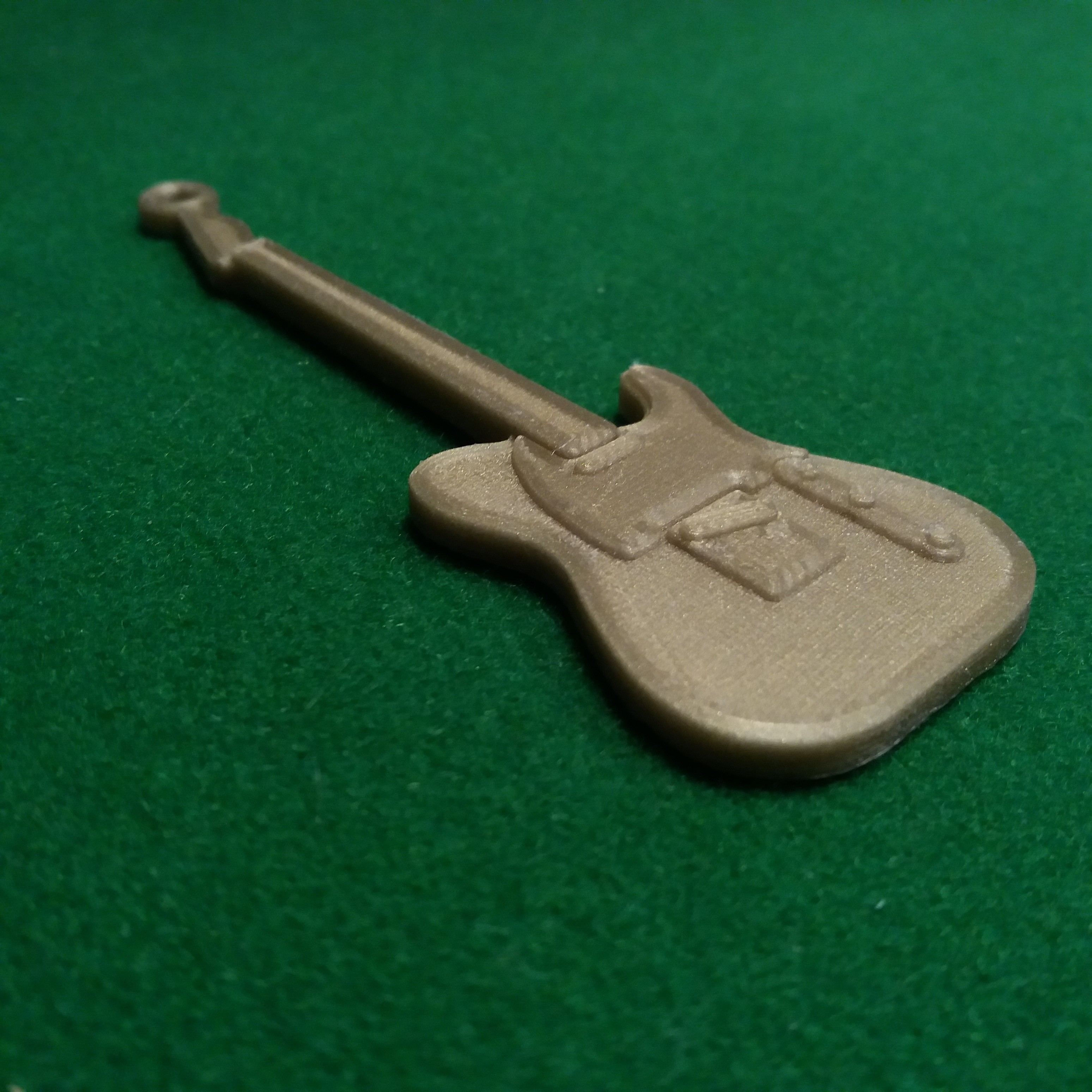 fenderv telecaster 1.jpg Download free STL file Fender Telecaster Guitar • 3D printer object, gerbat
