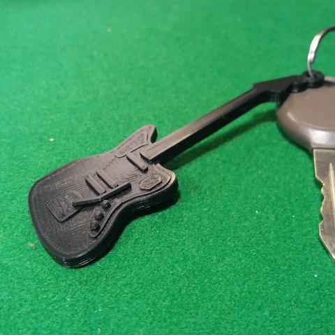 Fender jaguar2.jpg Download free STL file Fender Guitar Jaguar • 3D printing model, gerbat