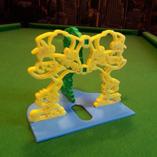 Kid paddle vue arriere.jpg Download free STL file Kid-Paddle Book Press • 3D print object, gerbat
