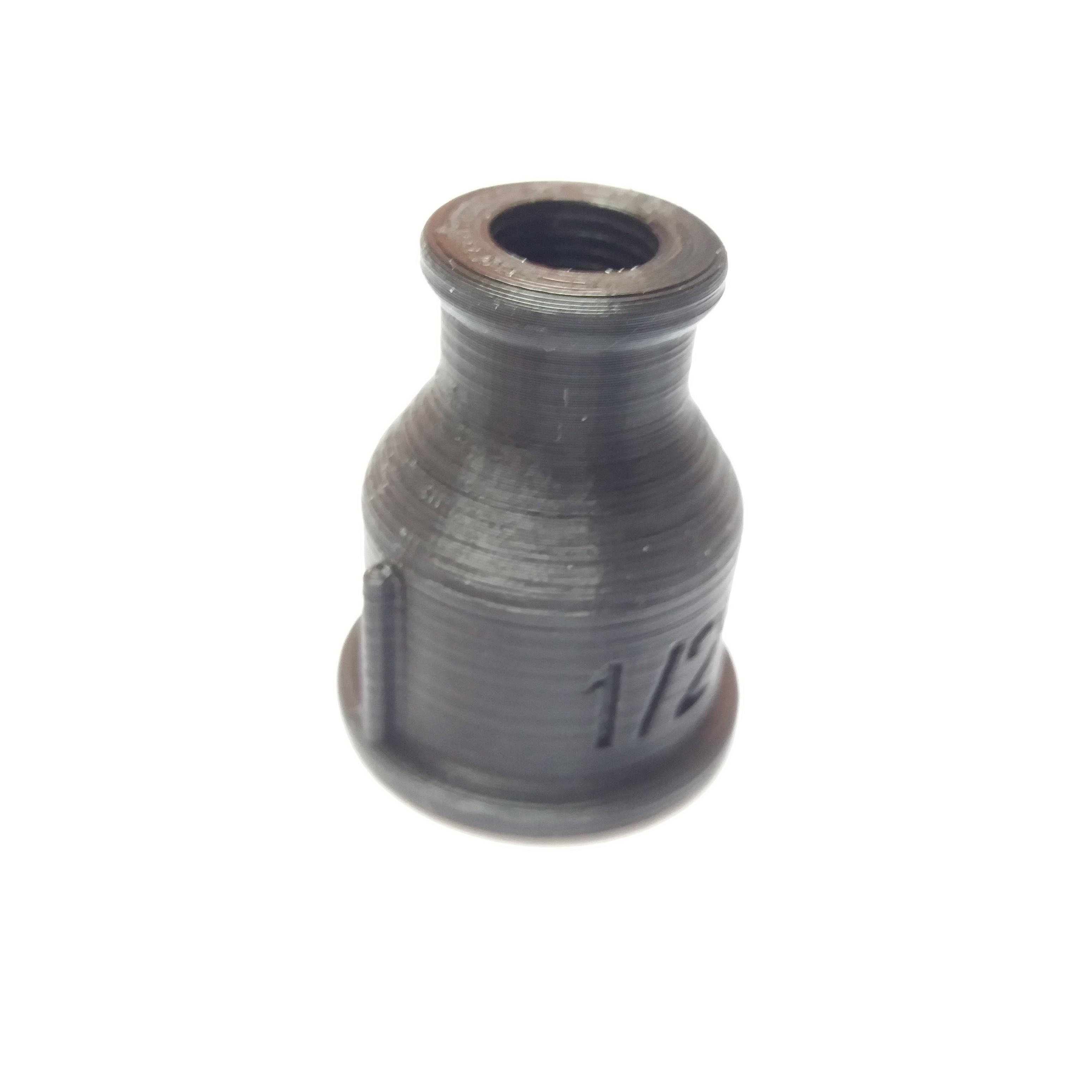 Reduction 1-2 M 10x1.jpg Download free STL file Wall lamp, Lamp, fittings, Decoration. • 3D print template, gerbat