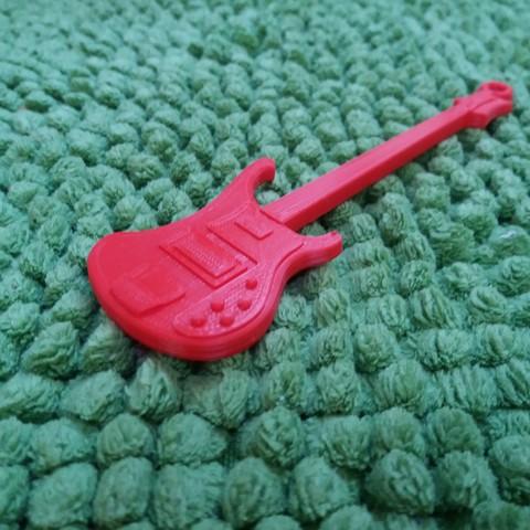 Descargar STL gratis Rickenbacker de la guitarra baja, gerbat