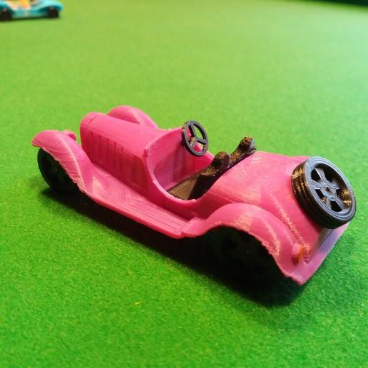 bugatti 3-4 arriere.jpg Download STL file Bugatti typ 55 • Object to 3D print, gerbat