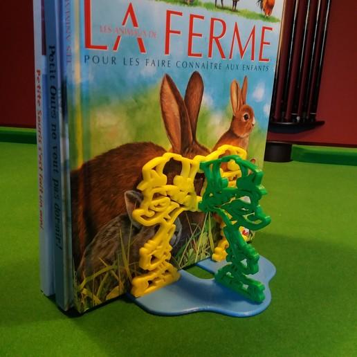 Kid paddle livre ferme.jpg Download free STL file Kid-Paddle Book Press • 3D print object, gerbat