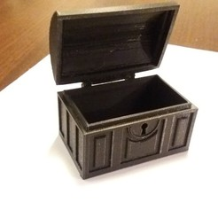 Free 3D print files Pirate chest, dolls, gerbat