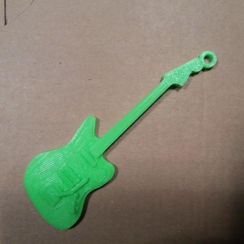 Fender jaguar verte.jpg Download free STL file Fender Guitar Jaguar • 3D printing model, gerbat