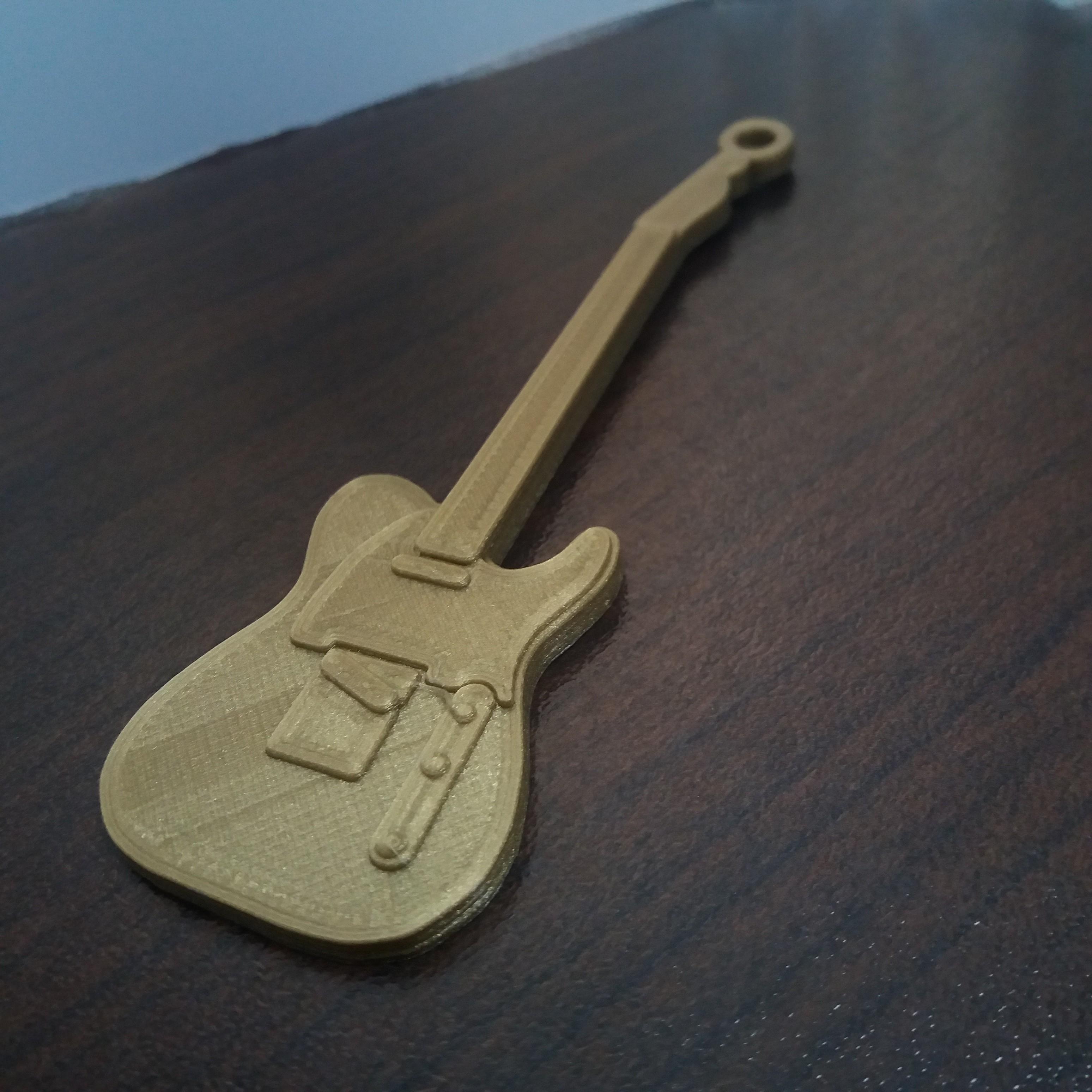 20171118_092454.jpg Download free STL file Fender Telecaster Guitar • 3D printer object, gerbat