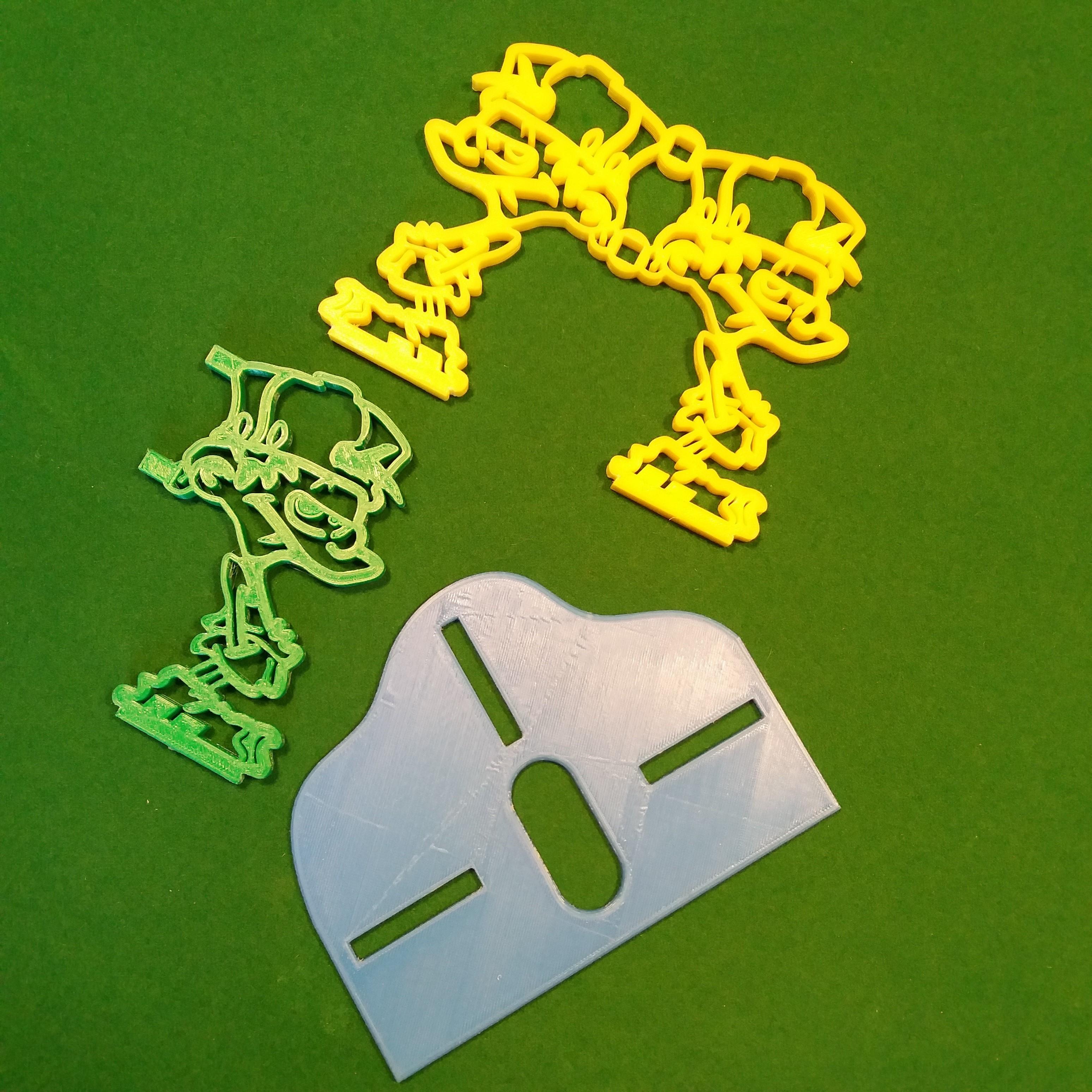 Kid paddle 3 pieces.jpg Download free STL file Kid-Paddle Book Press • 3D print object, gerbat