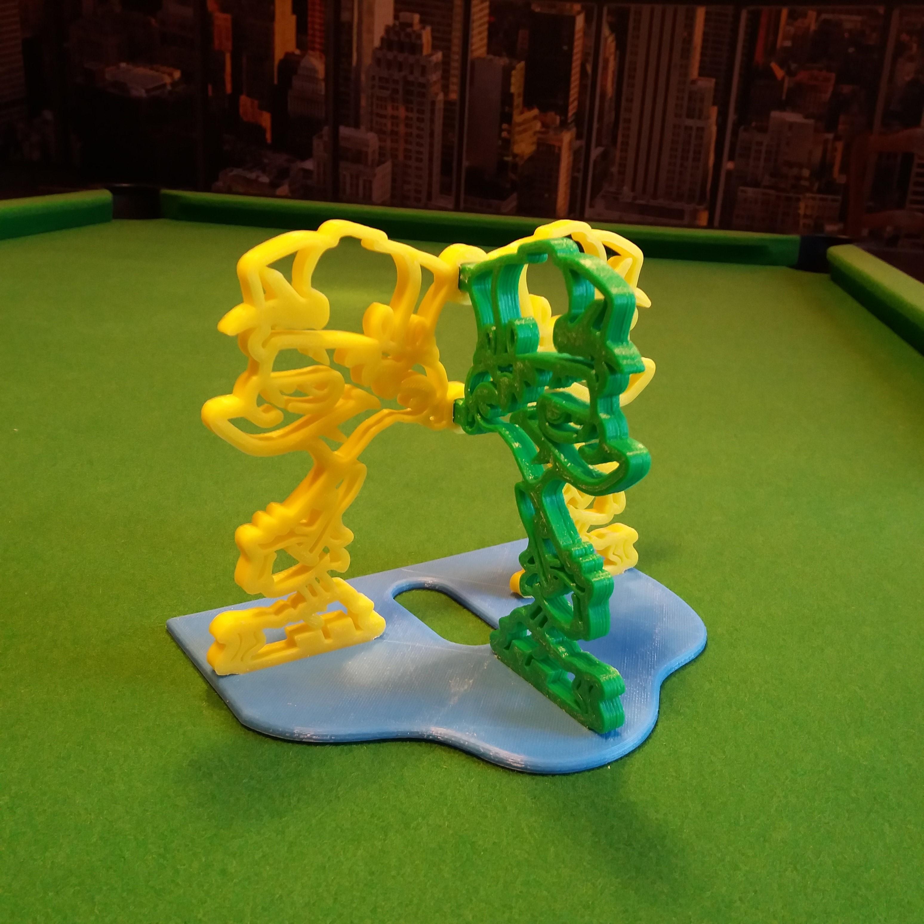 Kid paddle vue 3-4.jpg Download free STL file Kid-Paddle Book Press • 3D print object, gerbat