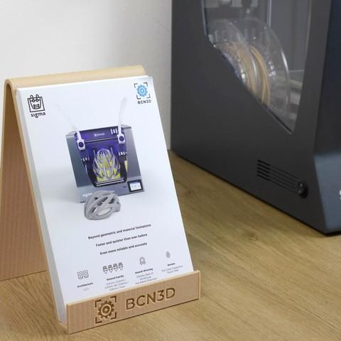 Télécharger plan imprimante 3D gatuit Porte-brochures, BCN3D