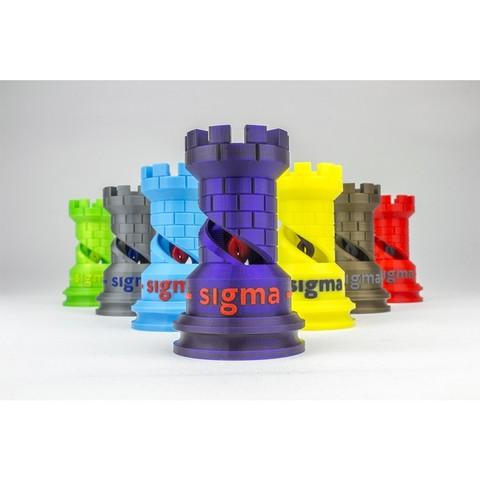 The Rook-BCN3D_Technologies_3.jpg Télécharger fichier STL gratuit The Dual Rook - Benchmark d'imprimante 3D • Modèle imprimable en 3D, BCN3D