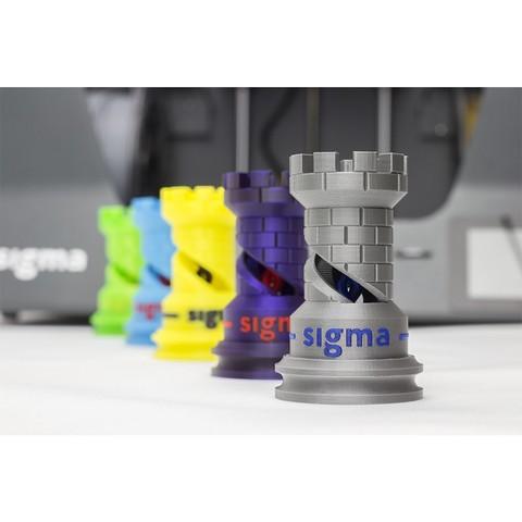 The Rook-BCN3D_Technologies_2.jpg Télécharger fichier STL gratuit The Dual Rook - Benchmark d'imprimante 3D • Modèle imprimable en 3D, BCN3D