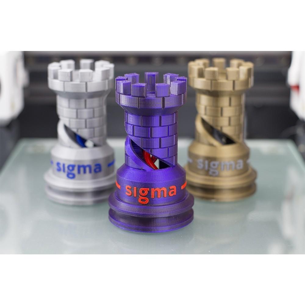 The Rook-BCN3D_Technologies.jpg Télécharger fichier STL gratuit The Dual Rook - Benchmark d'imprimante 3D • Modèle imprimable en 3D, BCN3D