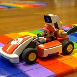 Mario_Kart_v4.00_00_46_11.Imagen_fija009.jpg Download free STL file Rainbow Road (SNES) Race Track for Mario Kart Live • 3D print object, BCN3D