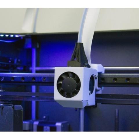 Download free 3D printer designs Vertical Bowden BCN3D, BCN3D