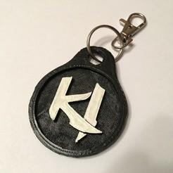 stl files Killer Instinct Keychain, NotJust4Nerds