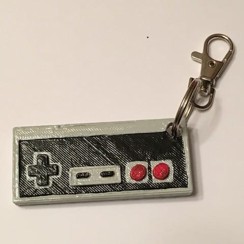 Download STL file Nintendo Controller Keychain • 3D printing design, NotJust4Nerds