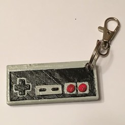 Photo Mar 24, 7 55 36 PM.jpg Download STL file Nintendo Controller Keychain • 3D printing design, NotJust4Nerds