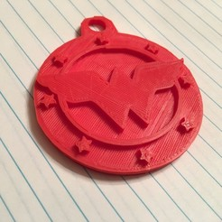 Photo Feb 27, 4 25 30 PM.jpg Download STL file Wonder Women Key Chain • 3D printing object, NotJust4Nerds