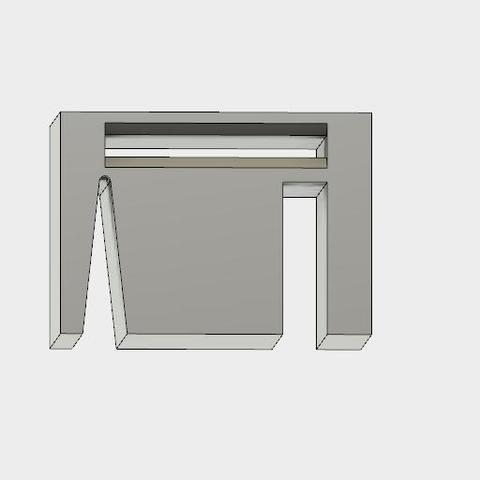 Verrou bande CMS 4.jpg Download free STL file cms tape lock • 3D printable object, maipourkoi
