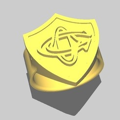 ChevalCO_1.jpg Download STL file Rugby knight Castres • 3D print object, maipourkoi