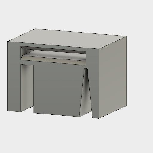 Verrou bande CMS 1.jpg Download free STL file cms tape lock • 3D printable object, maipourkoi