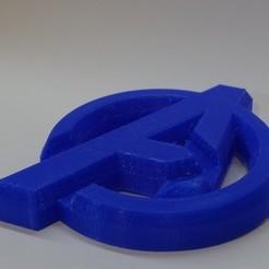 Download 3D model Avengers Logo, maipourkoi