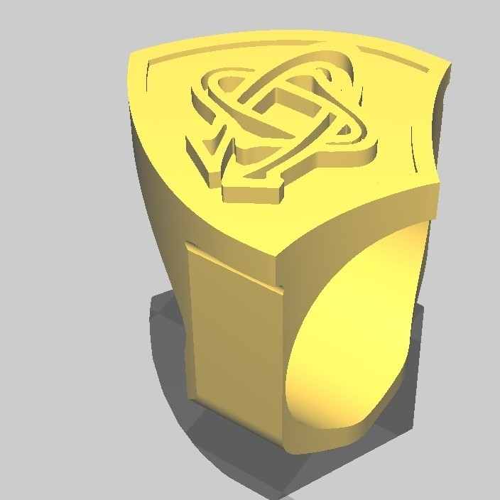 ChevalCO_3.jpg Download STL file Rugby knight Castres • 3D print object, maipourkoi