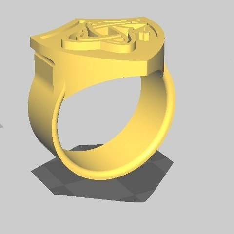 ChevalCO_12.jpg Download STL file Rugby knight Castres • 3D print object, maipourkoi