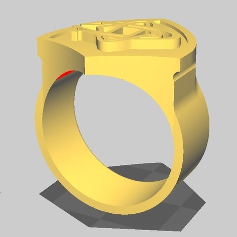 ChevalCO_11.jpg Download STL file Rugby knight Castres • 3D print object, maipourkoi