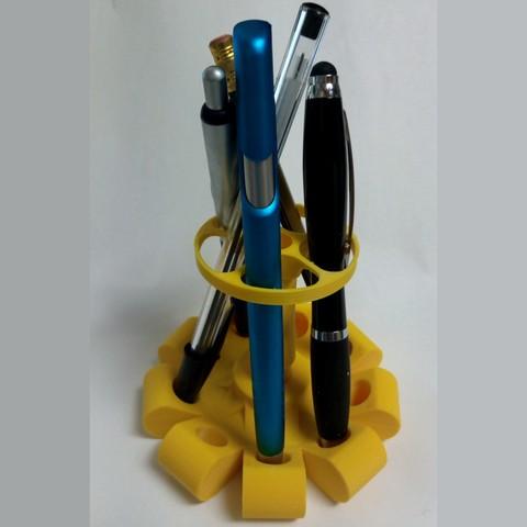 Télécharger fichier STL porte crayon à batons, maipourkoi