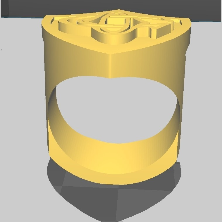 ChevalCO_5.jpg Download STL file Rugby knight Castres • 3D print object, maipourkoi