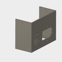 Anet_Power_Switch_v4b.png Download free STL file Anet A8 Power Supply Cover for Switch • 3D printing design, ranalex