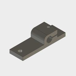 Y_Axis_Rod_Holder_v3.png Télécharger fichier STL gratuit Remise en état du porte-baguette de l'axe Y AM8 • Design à imprimer en 3D, ranalex
