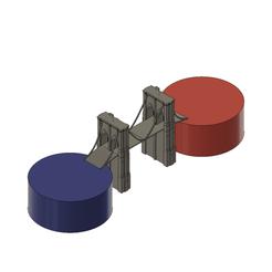 Cake_v18.png Download STL file Brooklyn Bridge Cake Topper • Object to 3D print, ranalex
