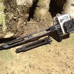 Free 3D printer files Gopro extension, datheus