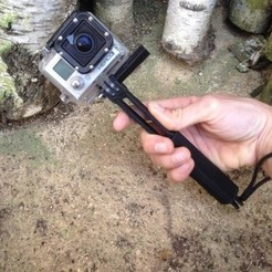 Free 3D print files Gopro Handle Multi, datheus