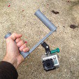 GoPro Stabilizer Hand STL file, datheus