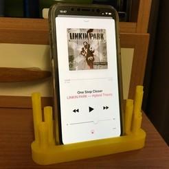 Photo 09-12-2017 15 50 27.jpg Télécharger fichier STL Haut-parleur pour iPhone X, 8 et 8 Plus • Design pour impression 3D, datheus