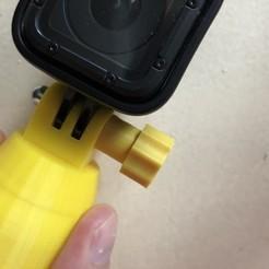 diseños 3d gratis GoPro 20mm Knob, datheus