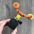 Modelos 3D para imprimir gratis Plataforma VN para GoPro, datheus