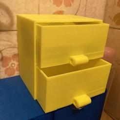 IMG_4610.jpg Download free STL file Storage Drawer • 3D print template, datheus