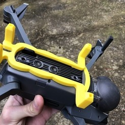 Photo 09-12-2017 11 40 29.jpg Download STL file DJI Mavic Pro - Football support • 3D printing object, datheus