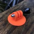 Diseños 3D gratis Pie para Gopro, datheus