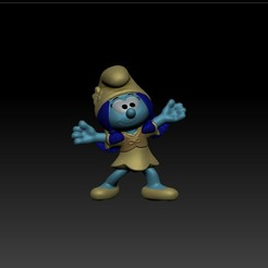 Download OBJ file Smurflily • 3D printing design, Exfusion