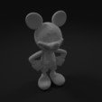 Download free 3D printer model Mickey Mouse, Disney, Character, Toy, Exfusion