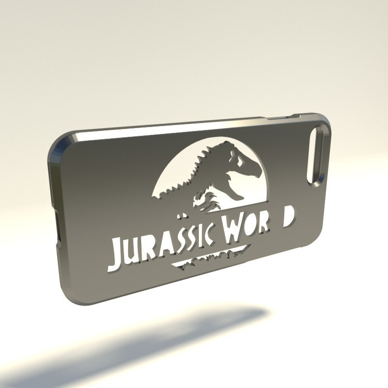 Jurassik World.jpg Download STL file Iphone 4 Covers • 3D printable template, vincent91100