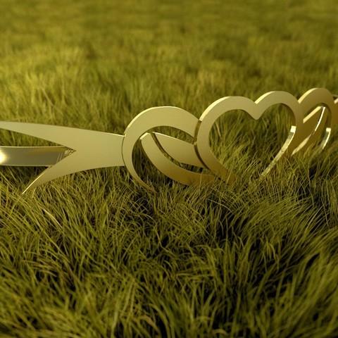 Download STL file Heart Necklace • 3D printing model, vincent91100