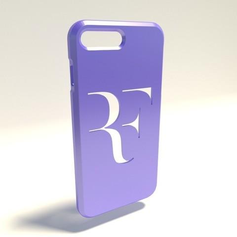 Roger Federer.jpg Download STL file Iphone 4 Covers • 3D printable template, vincent91100