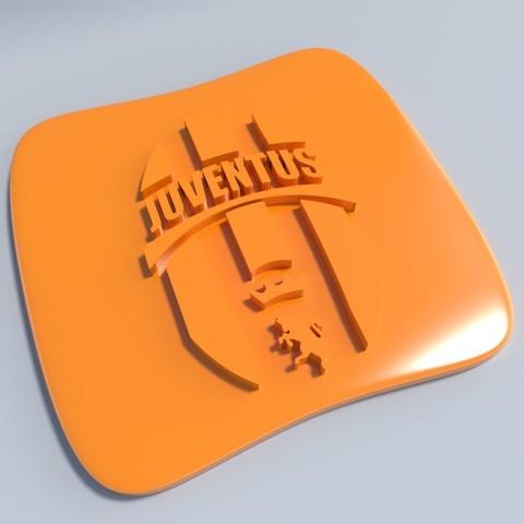 Juventus.jpg Download STL file Football club logos • 3D printable template, vincent91100