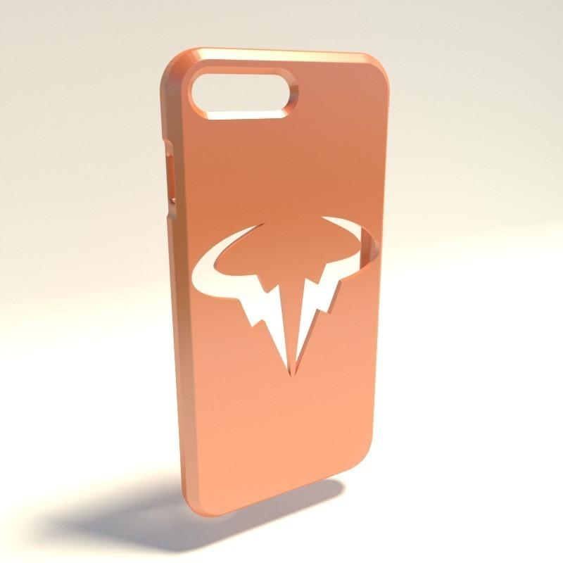 Rafael Nadal.jpg Download STL file Iphone 4 Covers • 3D printable template, vincent91100